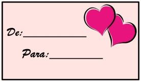 Cartão De-Para-coração fundo rosa-Blog -Artes prontas